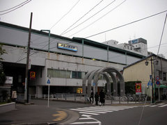 京急久里浜JR側の入口