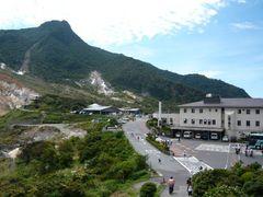 大湧谷駅からの風景