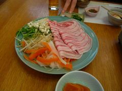 箱根山麓豚のしゃぶしゃぶコースg
