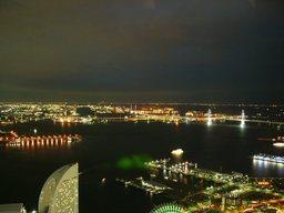 ランドマークタワーからの眺め