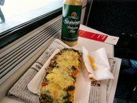 ピザパン mit Bier