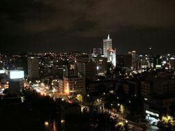 東大門方面の夜景