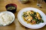ゴーヤーチャンプルー@なかよし食堂