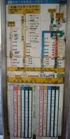 空港から本島中部北部方面のバス時刻表