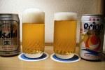 オリオンビール製のスーパードライ