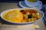 NZ90便の機内食(ビジネスクラス:朝食)