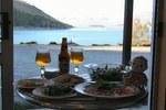 テカポ湖をみながら夕食
