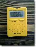 故障した温湿度計