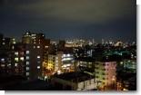 実家からの眺め(新宿方面)