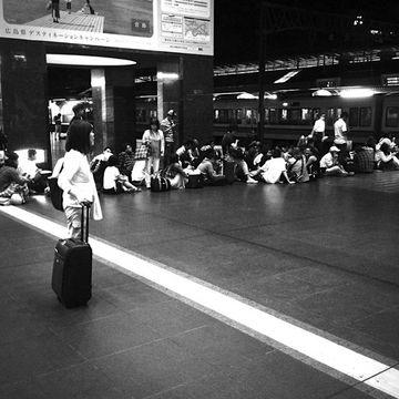 京都駅0番線