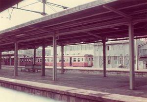 地上時代の岐阜駅