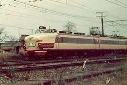 国鉄時代の485系雷鳥号
