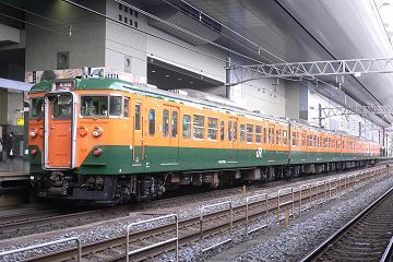 113系京キトC17編成(湘南色)の写真